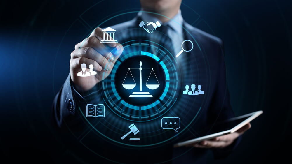 a lawyer working in technology