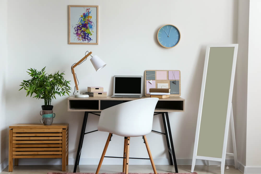 clean and organized workspace